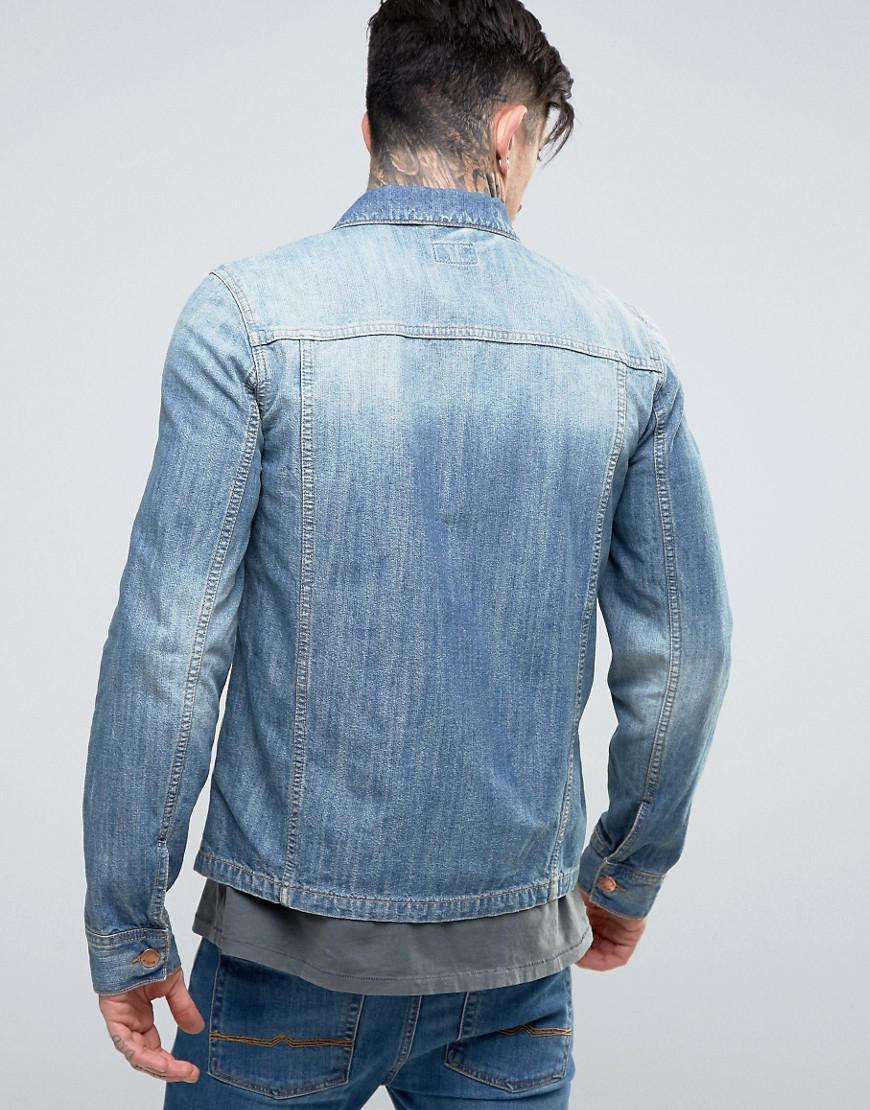 Nudie Jeans Co Ronny Denim Jacket in Blue for Men