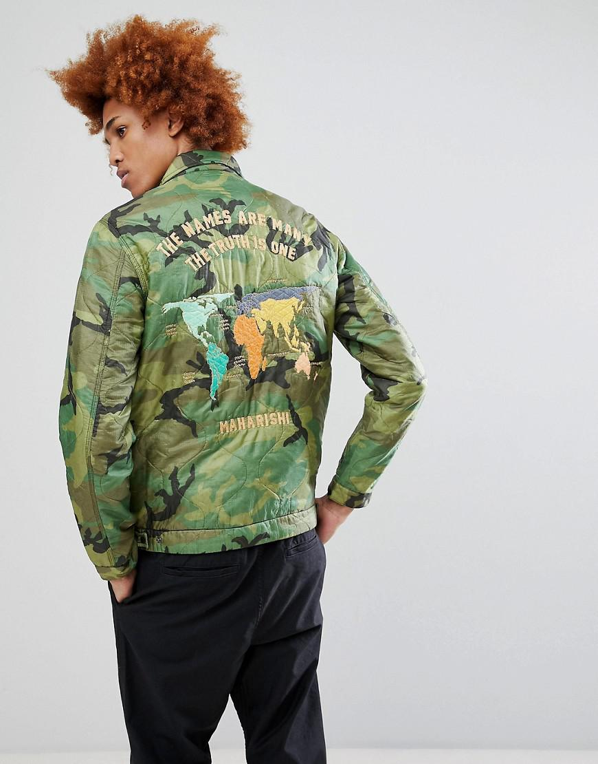 Lyst maharishi world tour jacket in brown for men maharishi mens brown world tour jacket gumiabroncs Gallery