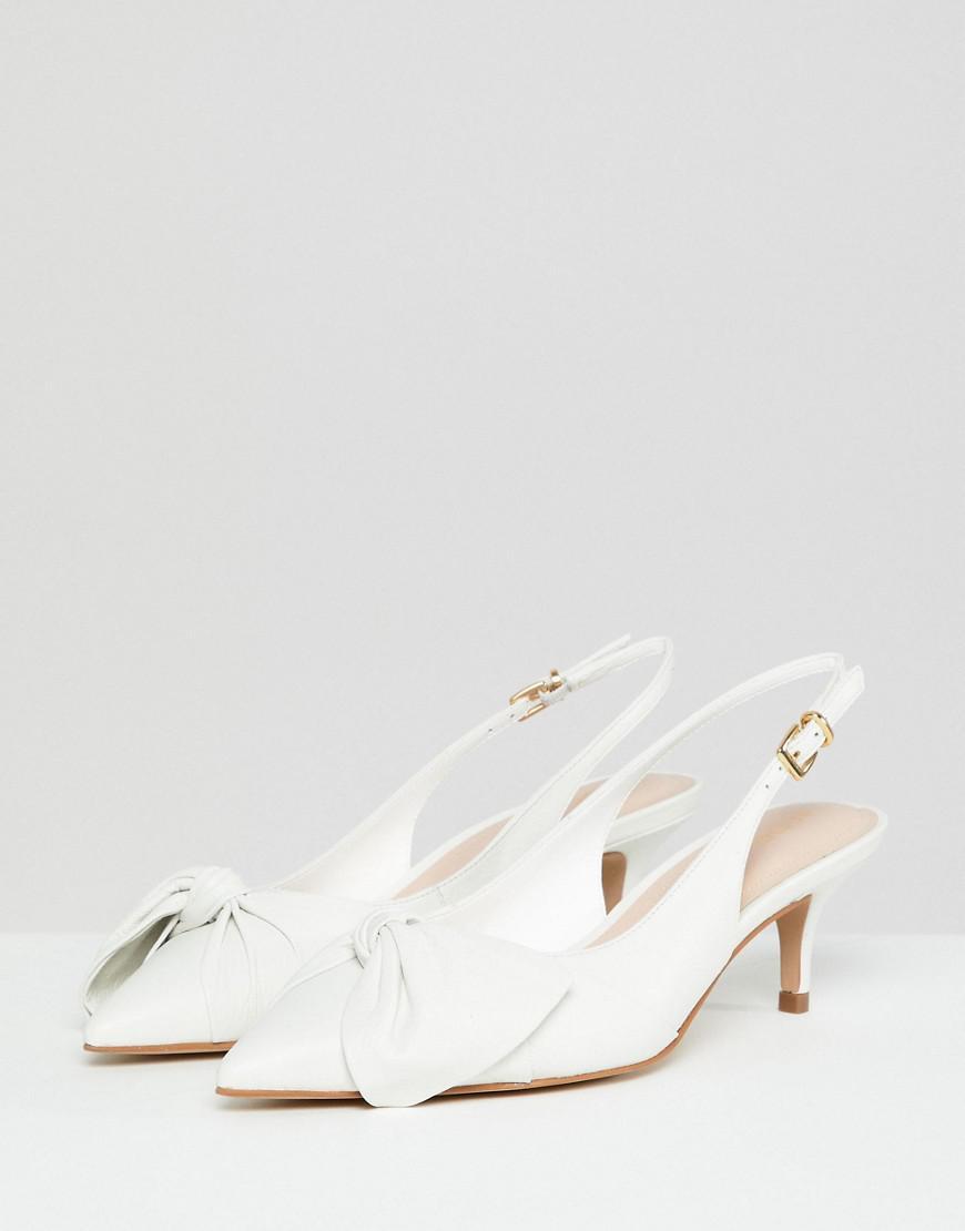 「ALDO Knot Slingback Kitten Heel Shoes」的圖片搜尋結果