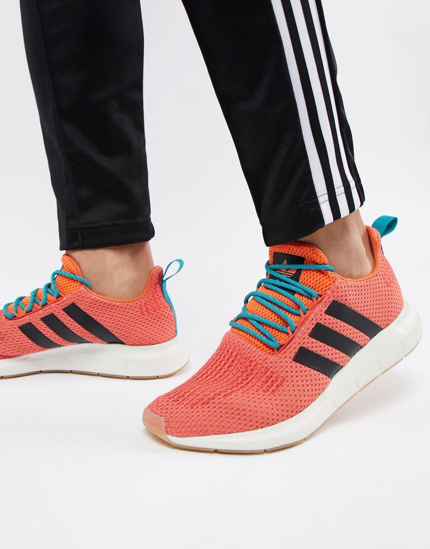 Adidas Originals Swift Run Summer Trainers In Orange Cq3086 for men