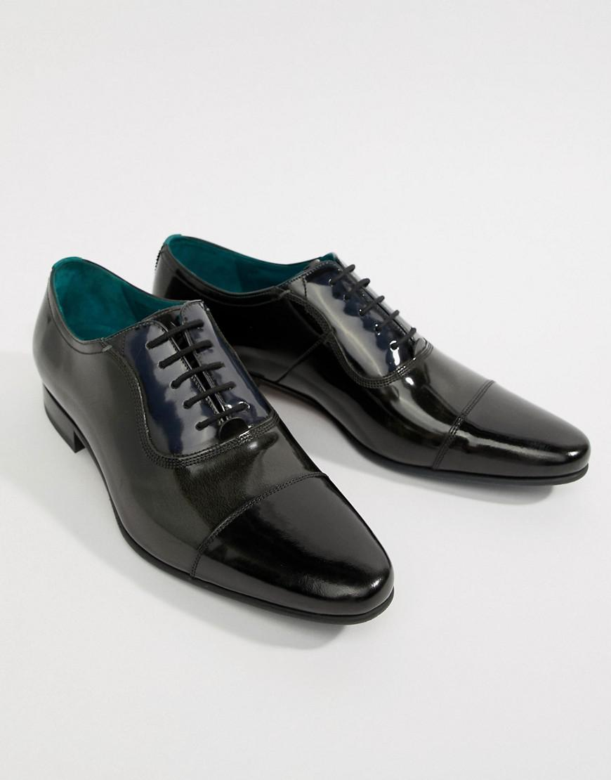 Boulanger Karneyh Hi Ted Cuir Poli Chaussures Oxford - Noir aRfHmMFd