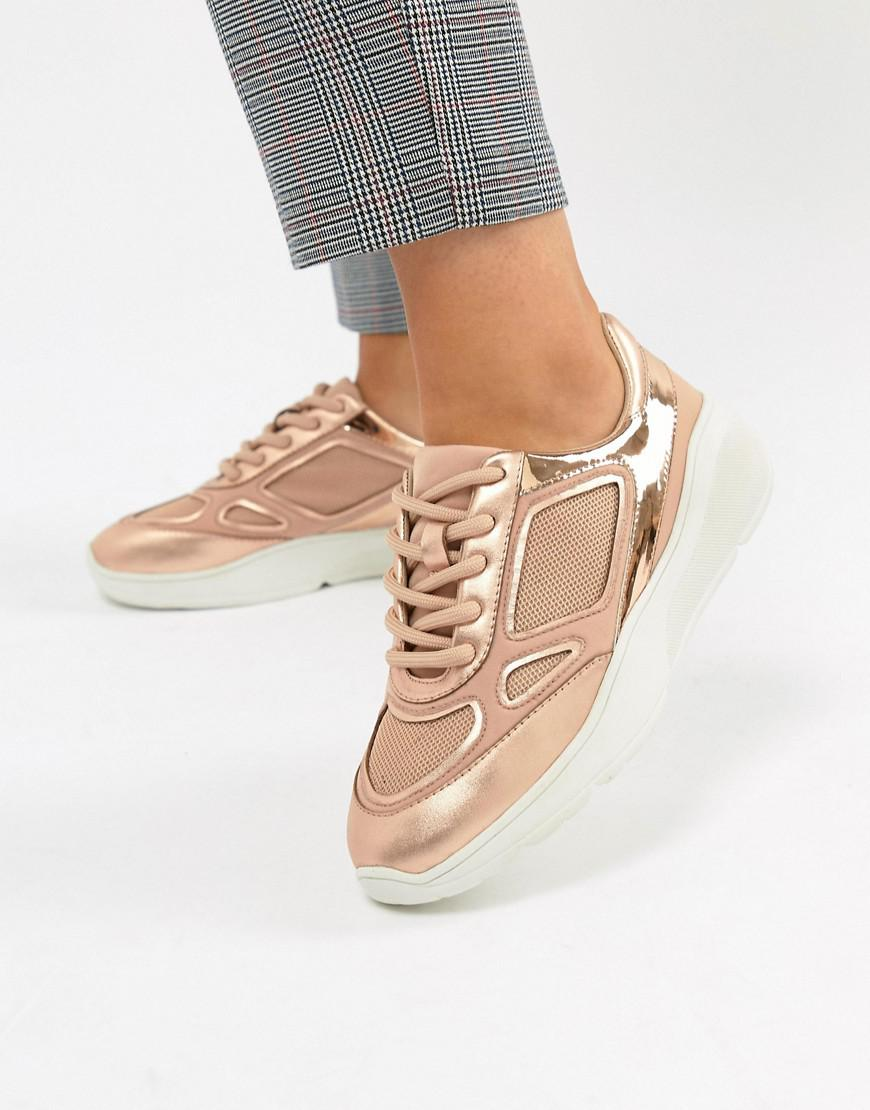 5fbaec6e2b7 Women's Metallic Current Rose Gold Sneaker