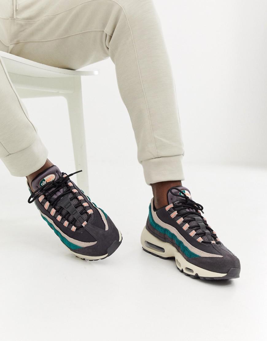 Nike Suede Air Max 95 Premium Trainers