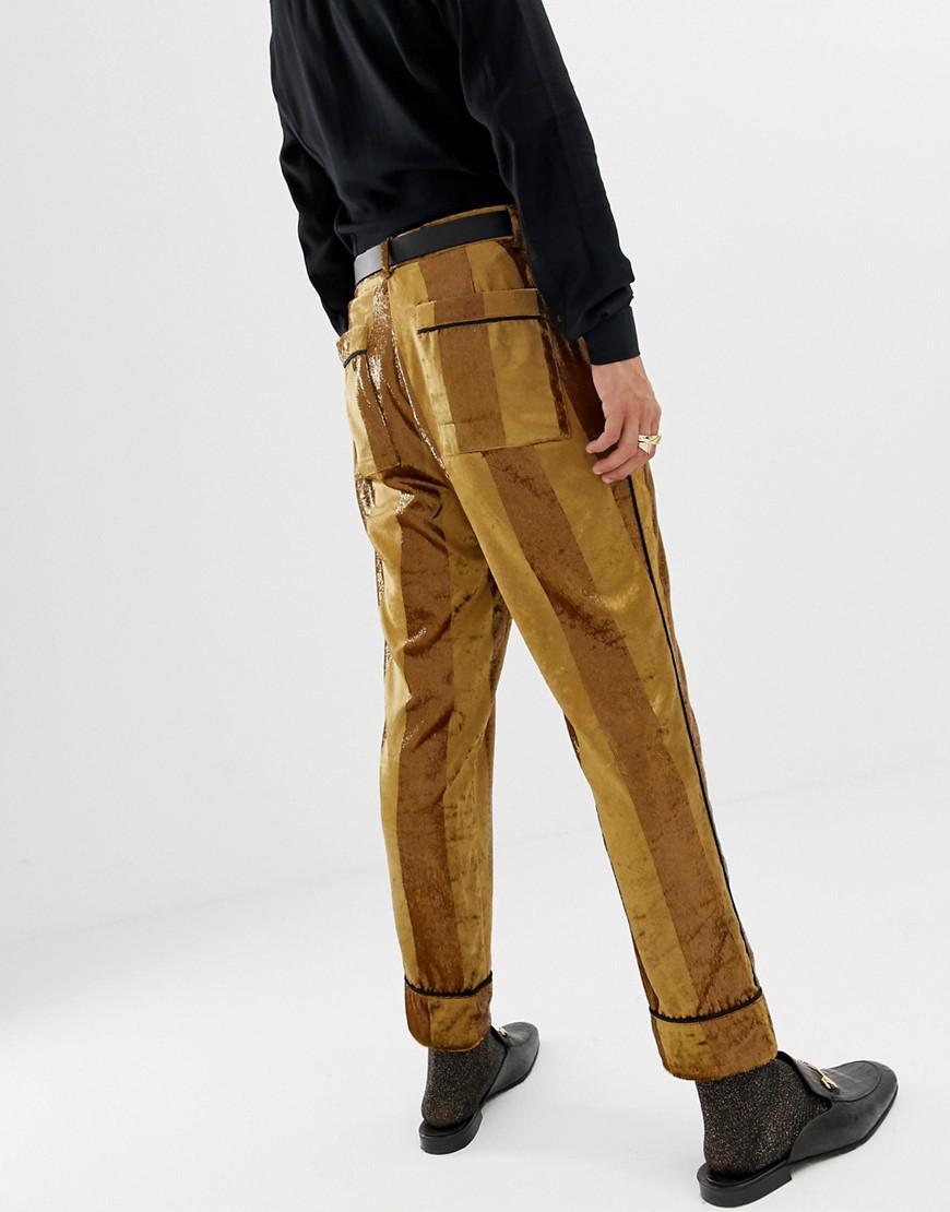 c68856e38 Mustard Yellow Mens Dress Pants - raveitsafe