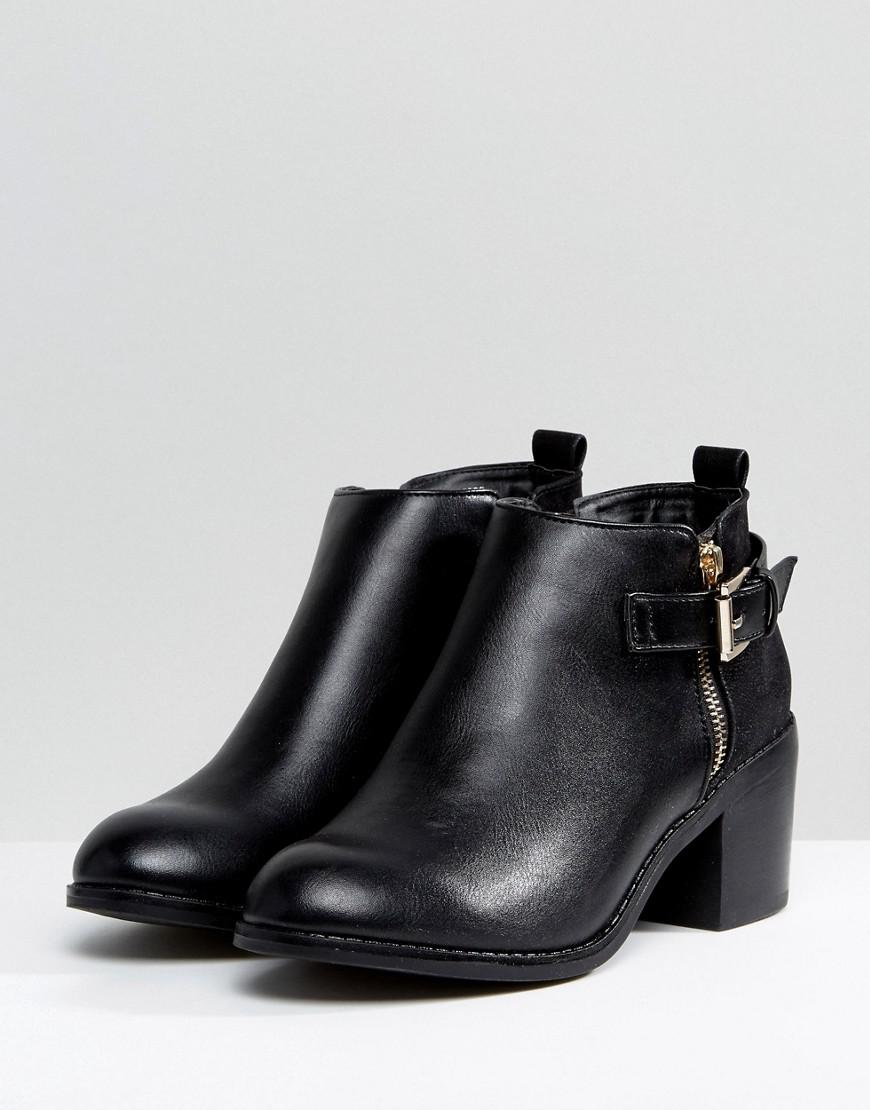 Office Academy Buckle Ankle Boots collections cheap online eastbay cheap price YDIFtp