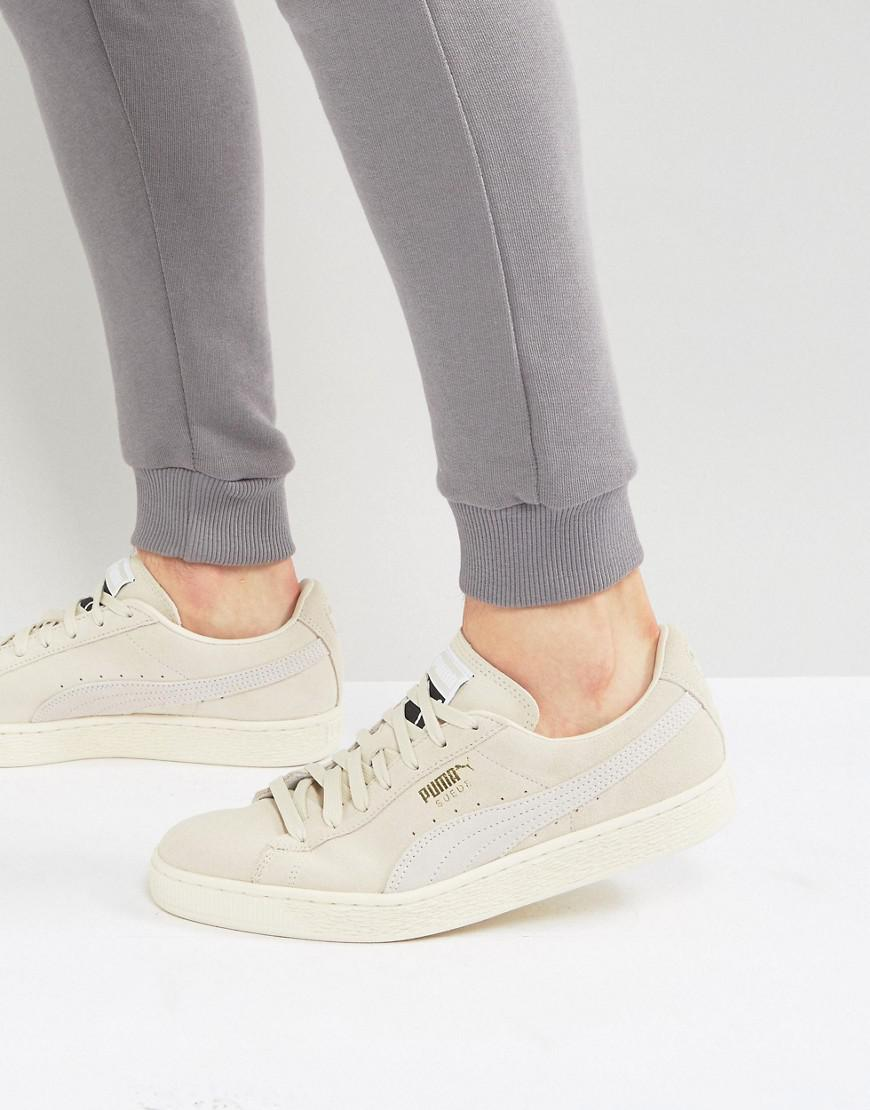 new concept ceb9a 9c749 PUMA Suede Classic Trainers In Beige 36324229 in Natural - Lyst