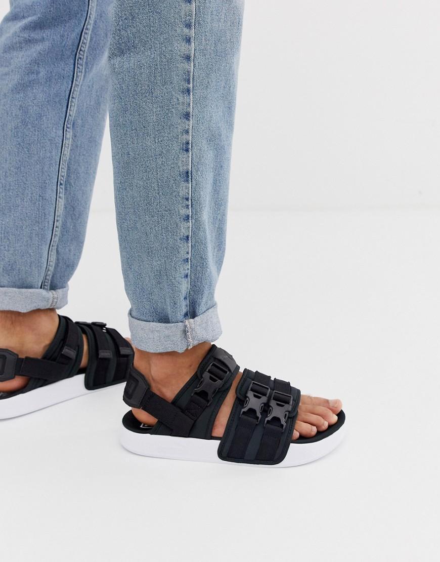 b04a0783ce PUMA Leadcat Ylm 19 Sandals In Black for Men - Lyst