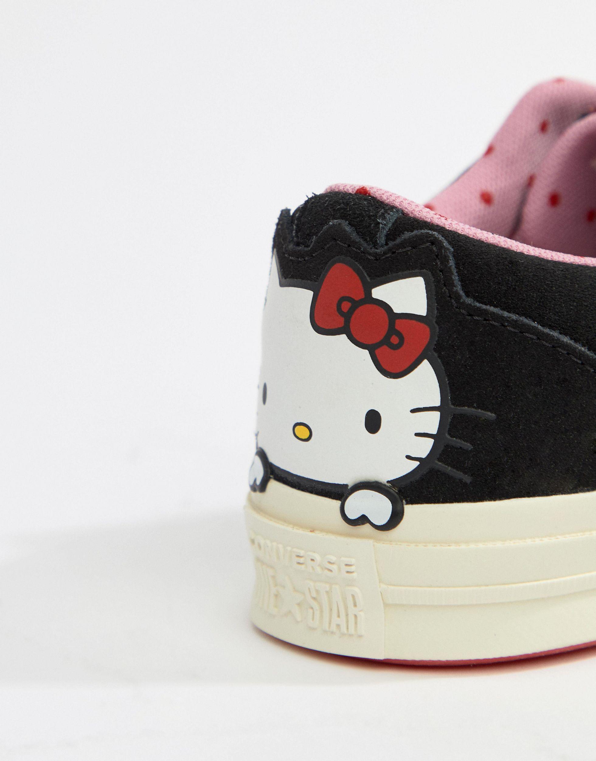X Hello Kitty - One Star - Baskets Converse en coloris Noir