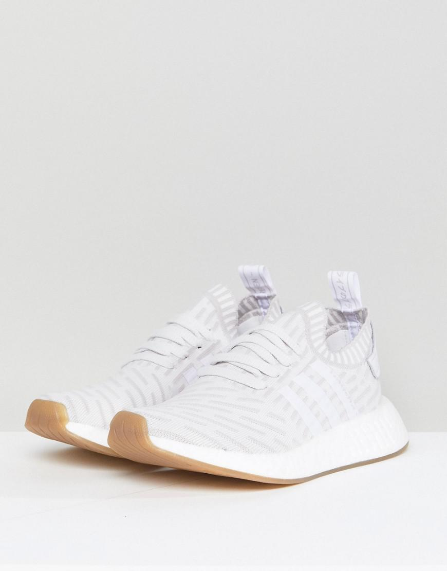 94a0d002156 Lyst - adidas Originals Originals Nmd R2 Trainers In White in White