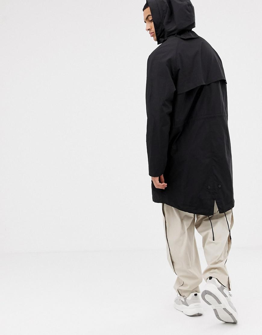 7965ba5987982 Sixth June Lightweight Jacket In Black With Hood in Black for Men - Lyst