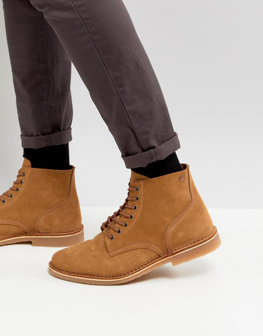 Jack & Jones Suede Lace Up Boots oiyydaiL