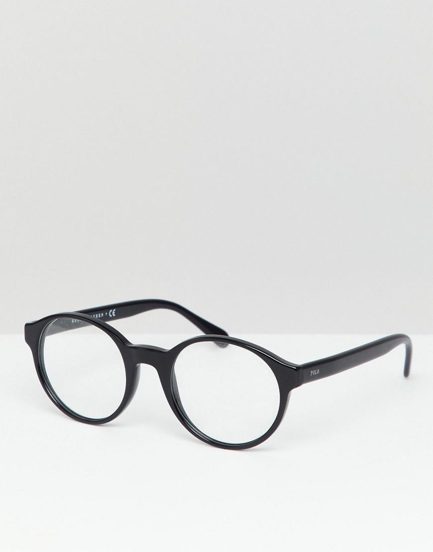 En Homme Polo Coloris Black Lunettes Ralph Lauren Rondes Pour rCoedxWBQ