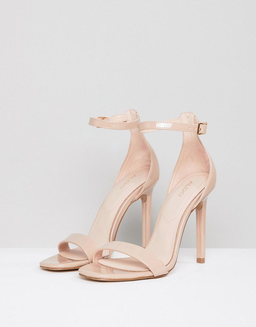 f6a6b151c6cc Lyst - ALDO Derolila Heeled Sandals in Natural