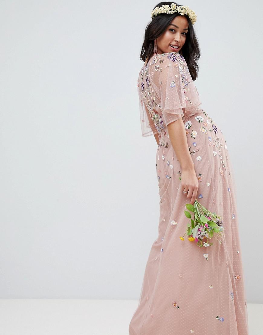 0e512b3ddd Asos Petite Maternity Maxi Dress - Data Dynamic AG