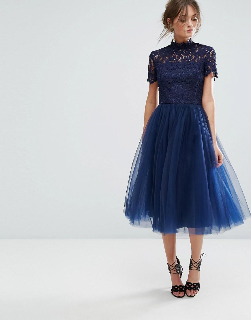 River Island Blue Skirt