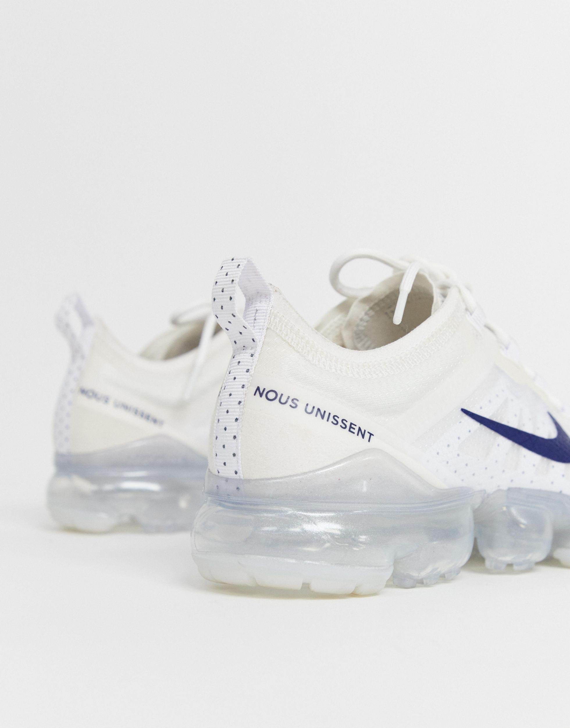 Nike Rubber And Navy Vapormax World Cup