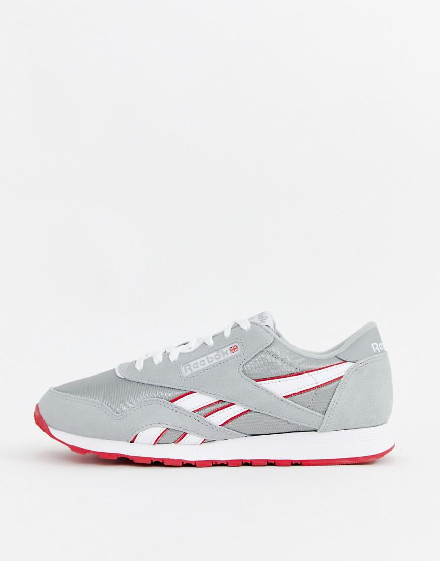 8945882df7d Reebok Classic Nylon Archive Trainers Grey Cn5149 in Gray for Men - Lyst