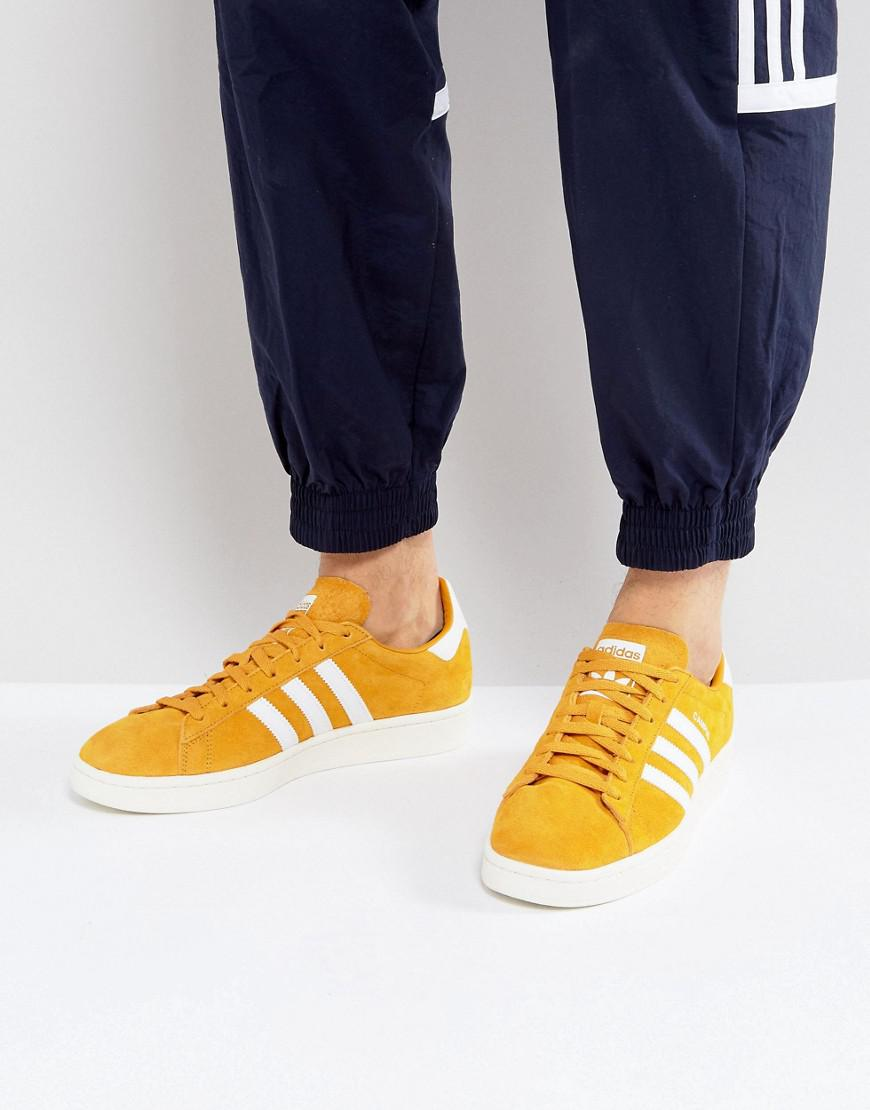 Campus Sneakers In Yellow Bz0088