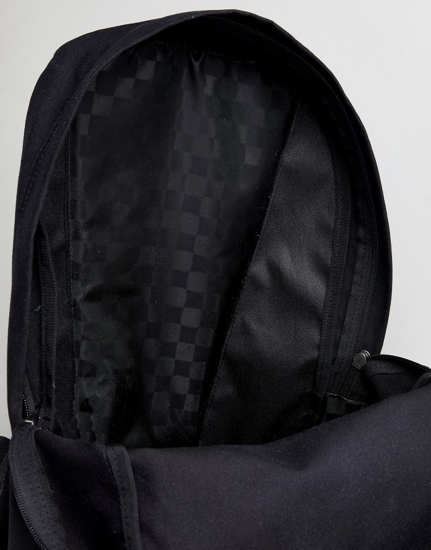 4dc373a350 Vans Realm Classic Backpack With Cat Print in Black - Lyst