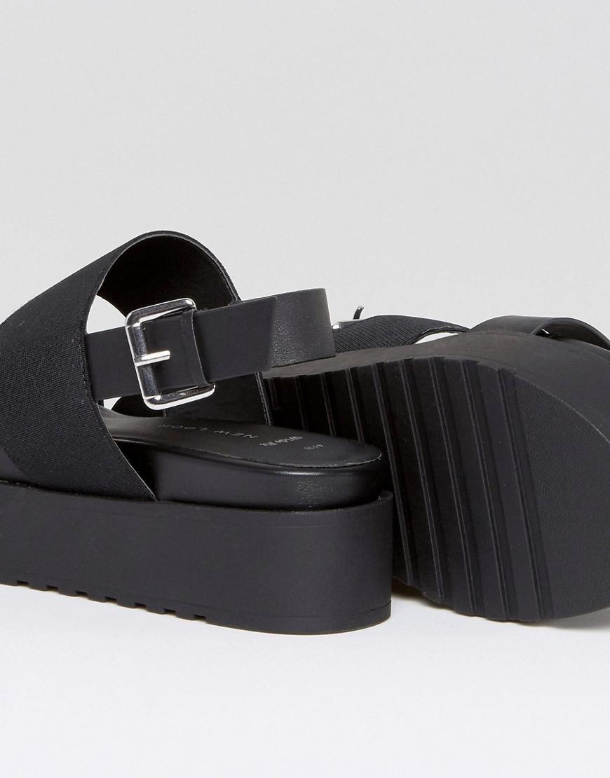 F9R681-Femmes Spot on Retro Années 90 Style à Talon Gelée//PVC Sandale...