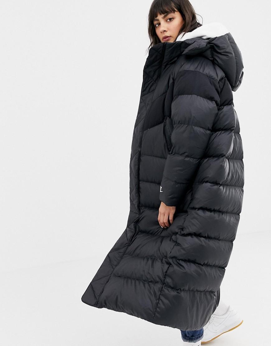 nike puffer coat long