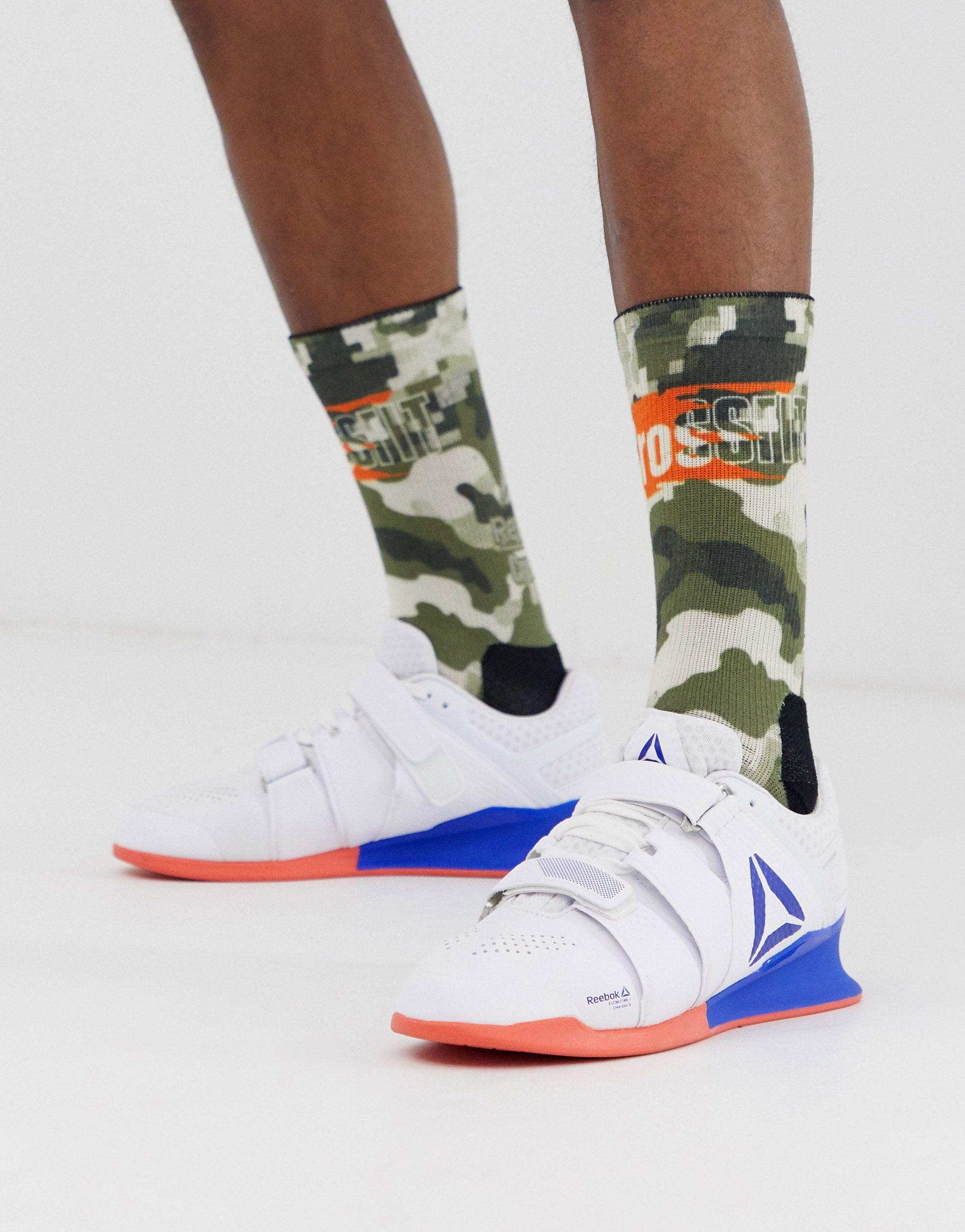 Training legacy - lifter - Baskets Caoutchouc Reebok pour homme en coloris Blanc kgw8