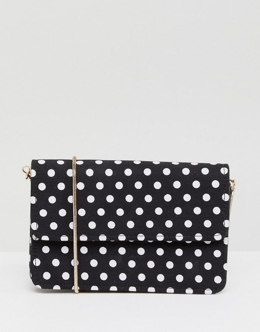 eda3daf520a8 Miss Selfridge. Women s Polka Dot Crossbody Bag