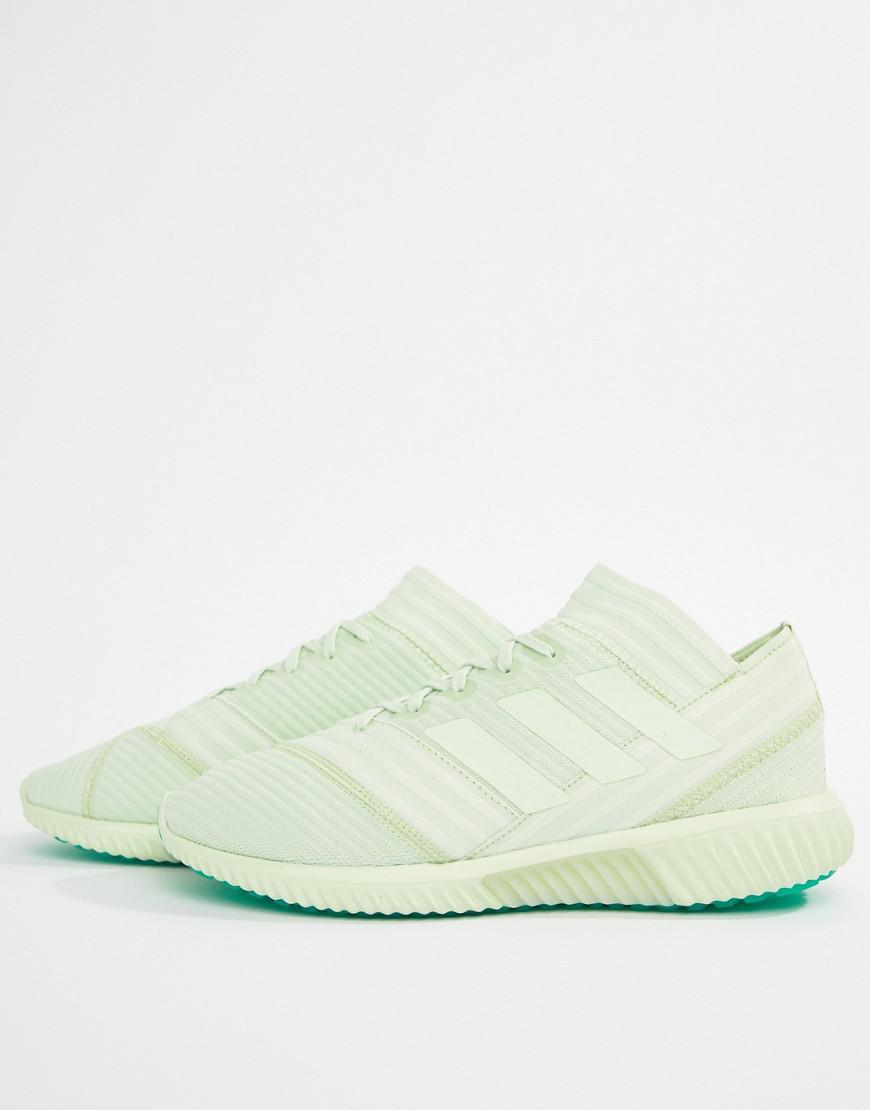 pour Adidas en homme coloris Vert Tango Football Lyst Nemeziz UqPxwtRAI
