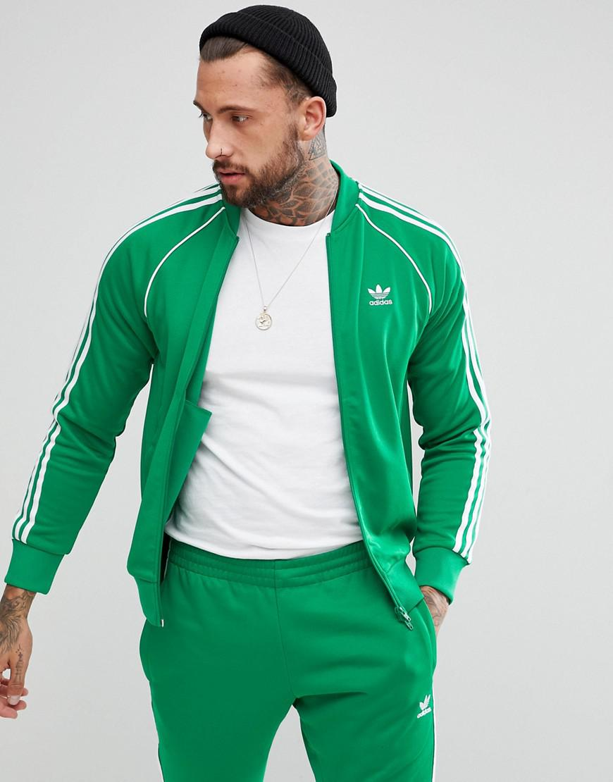 Green Adicolor Originals Men Track Jacket Adidas For mN08nvw