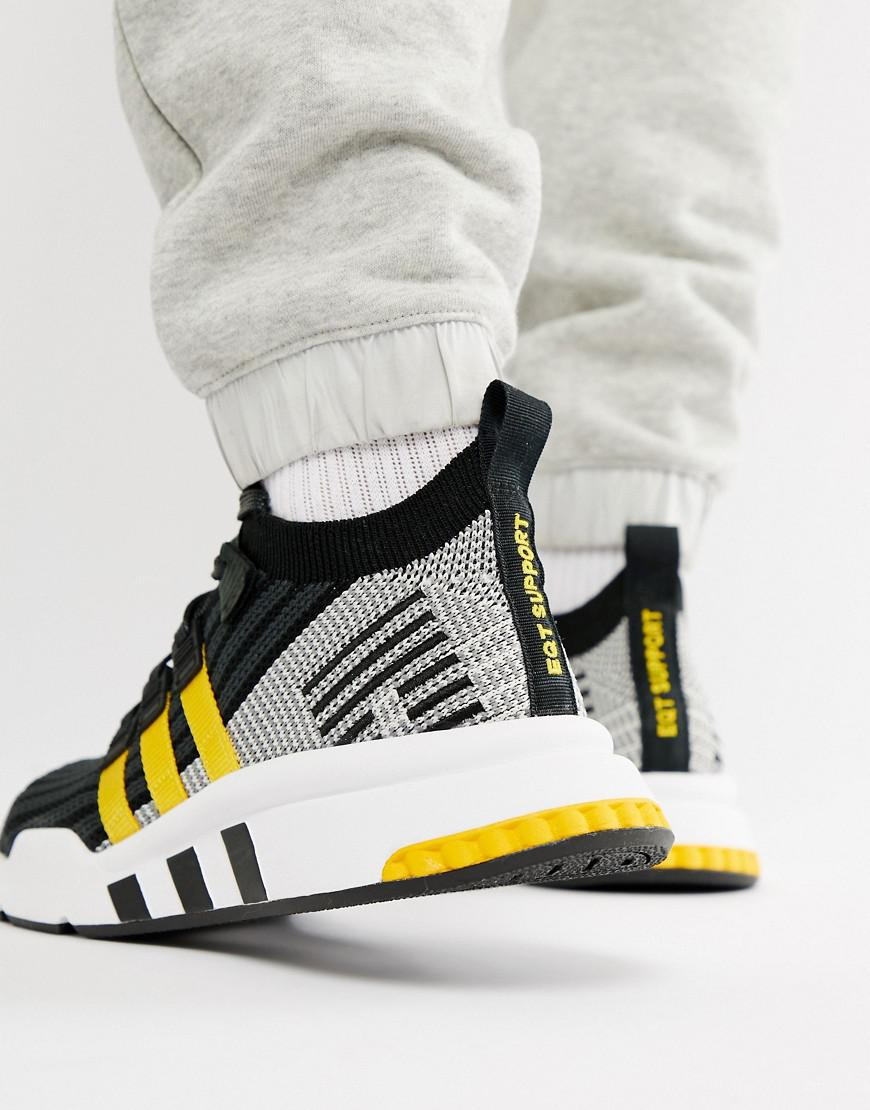 wholesale online best place sleek Eqt Support Mid Adv Trainers In Black Cq2999