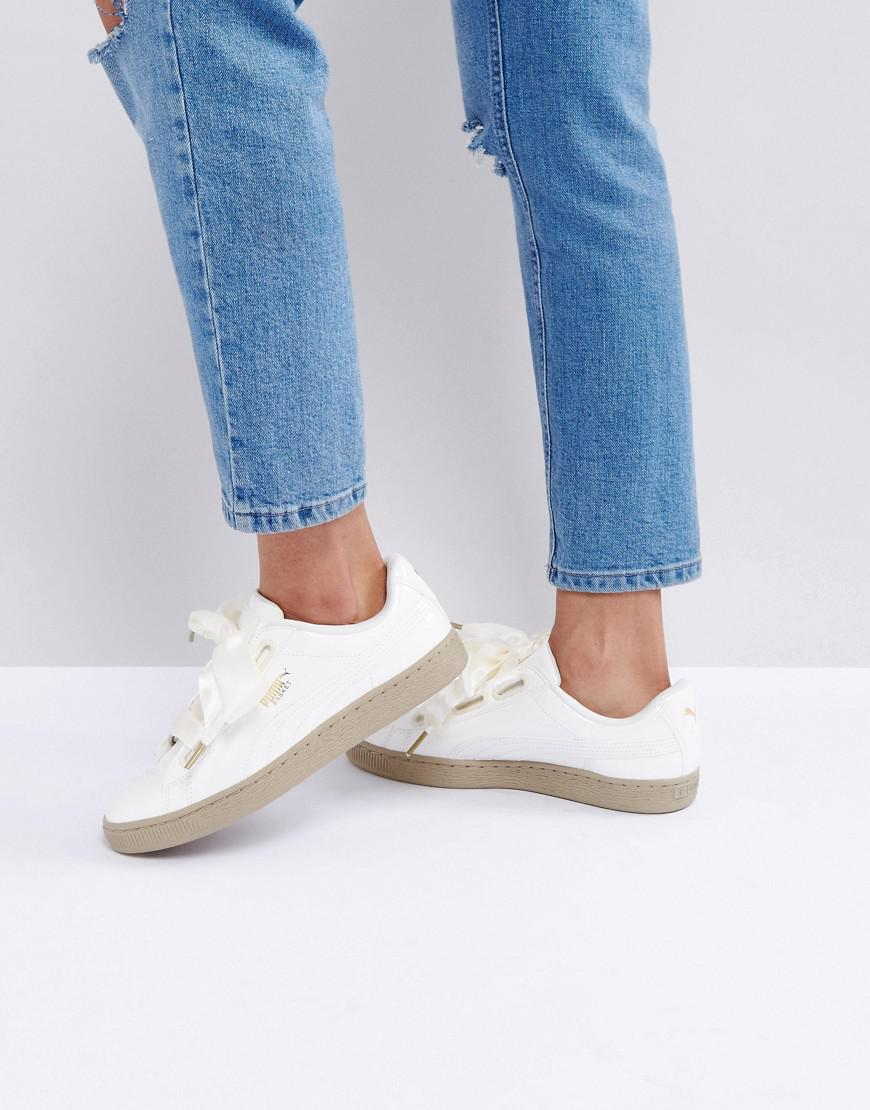 puma heart basket asos