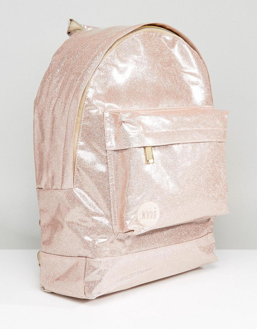 Mi-Pac Gold Backpack Pink