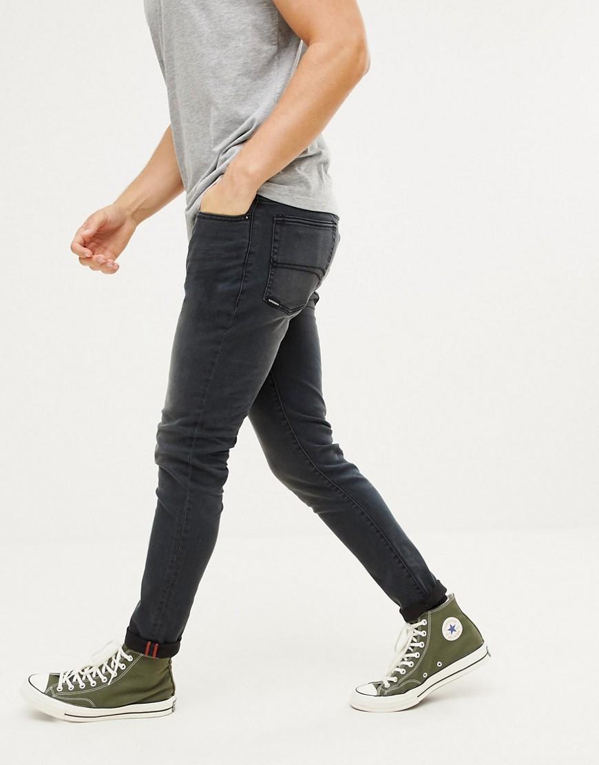 Superdry Men/'s Skinny Travis Jeans Blue