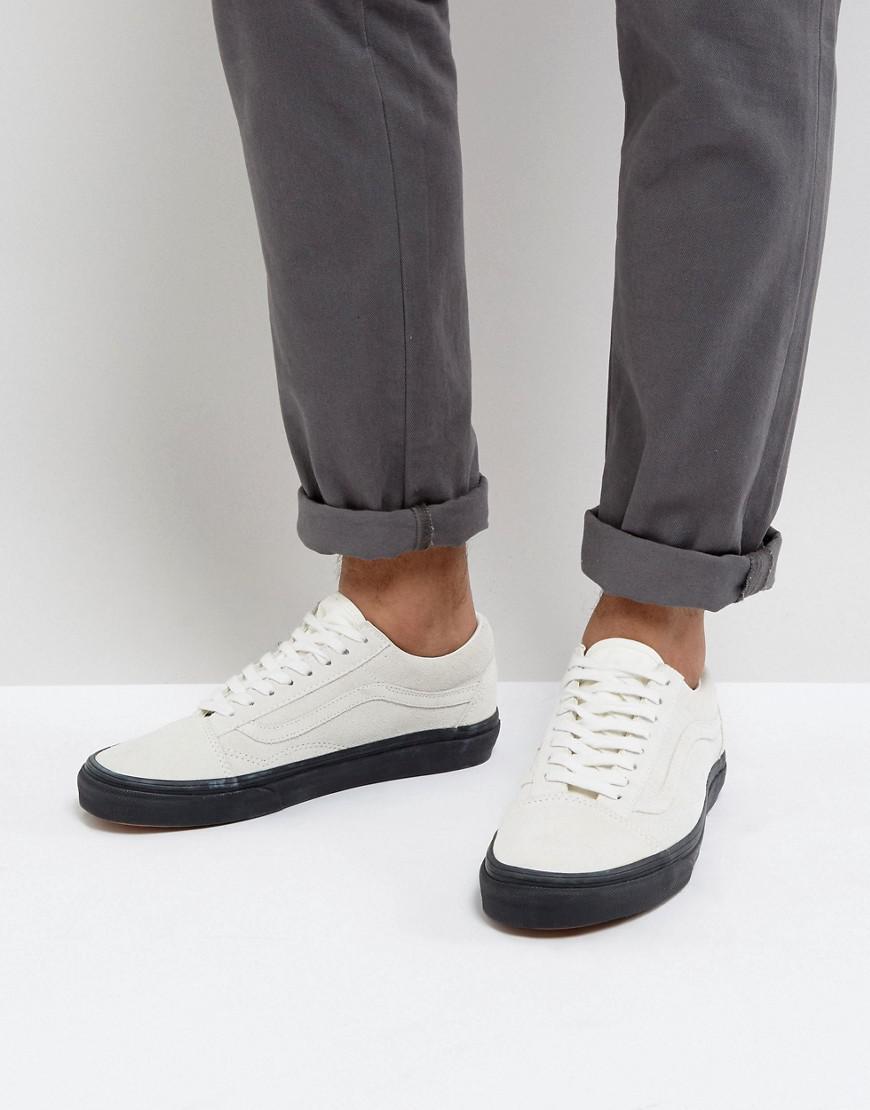 Vans Old Skool Suede Sneakers In Grey Va38g1oip in Gray for Men - Lyst aeb2bd07c