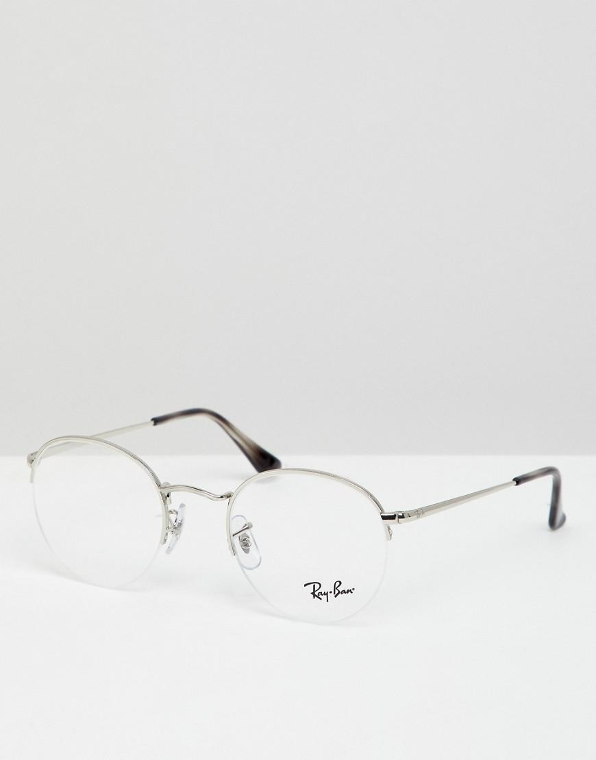 52258d557c9 Ray-Ban 0rx3947v Round Optical Frames With Demo Lenses in Metallic ...