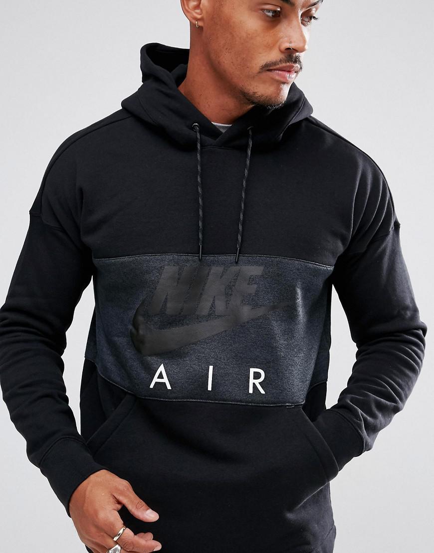 Nike Air Overhead Hoodie In Navy 863758 451