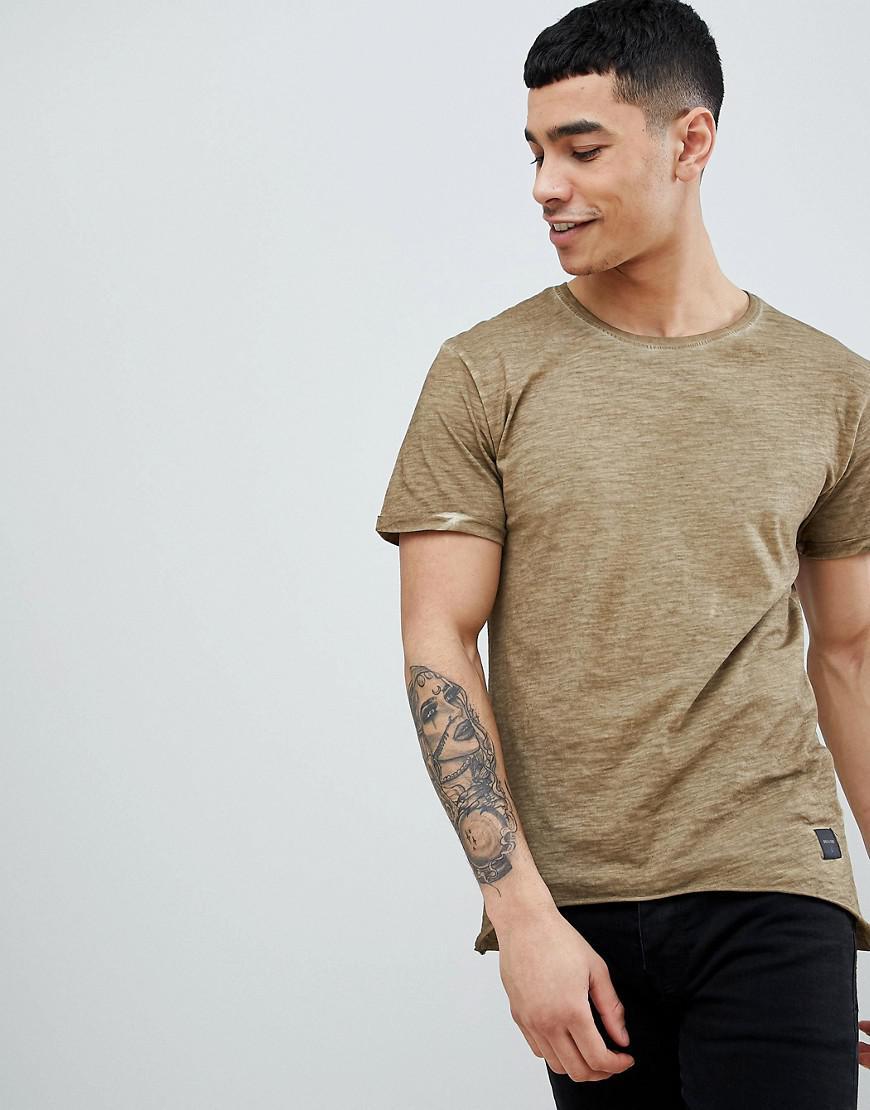 1152a4b8f00d5 T-shirt délavé à l'acide Only & Sons pour homme en coloris Marron - Lyst