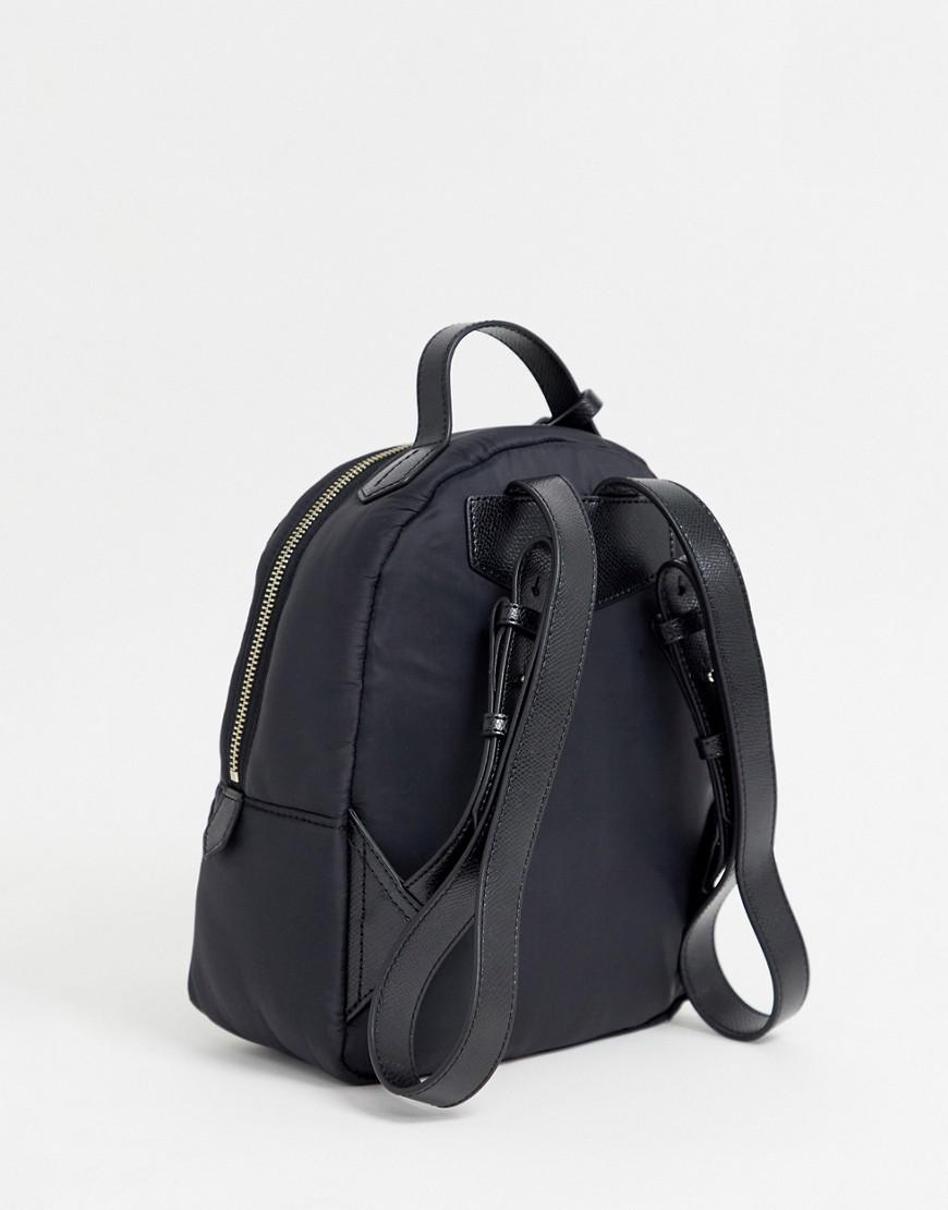 Lyst - Emporio Armani Quilted Nylon Backpack in Black 06865262a0