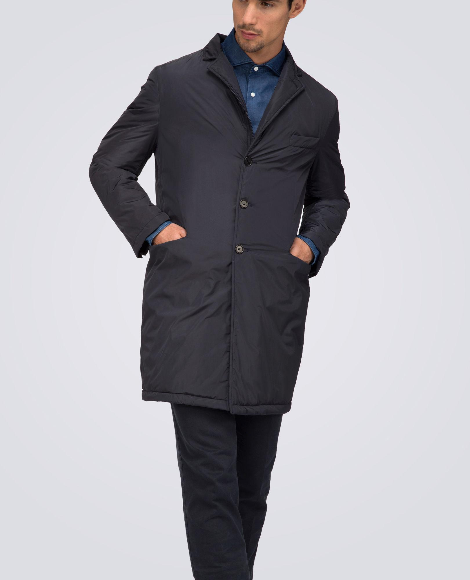 the latest af681 ecbb6 Men's Blue Thermore Coat Gene