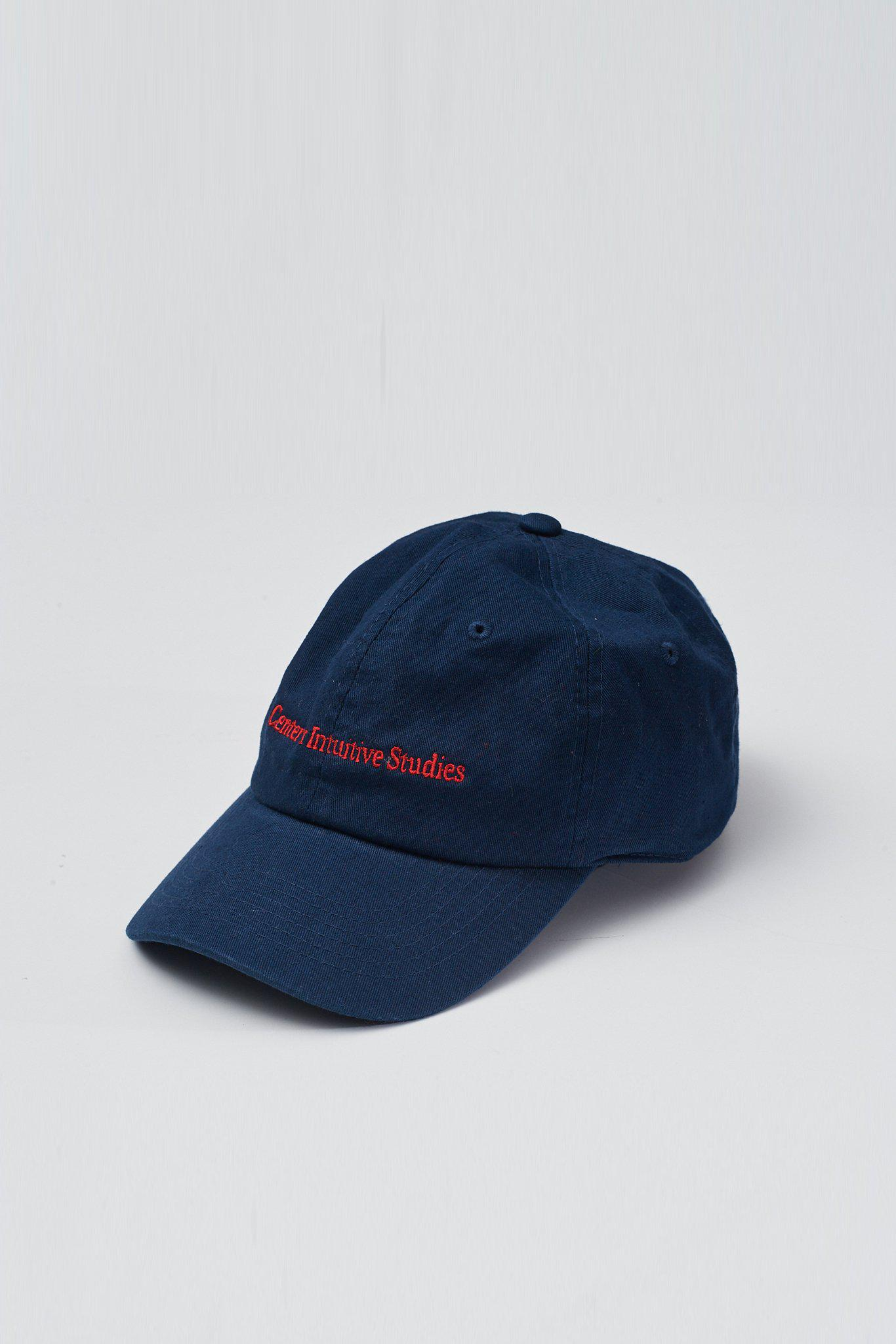 1dd483dd9ae Lyst - Assembly Center For Intuitive Studies Hat - Navy red in Blue ...