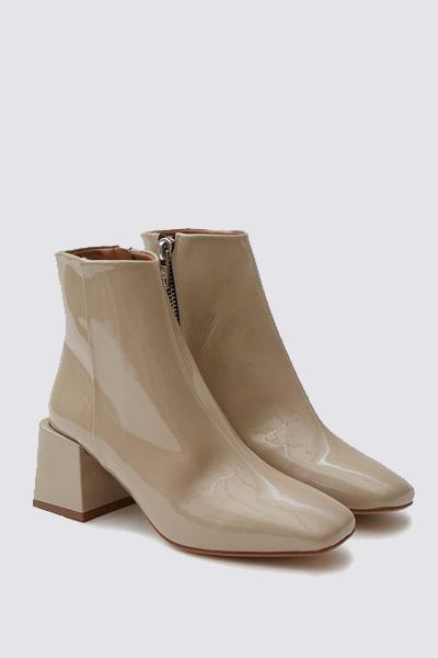 LOQ Leather Patent Lazaro Boot - Forcal