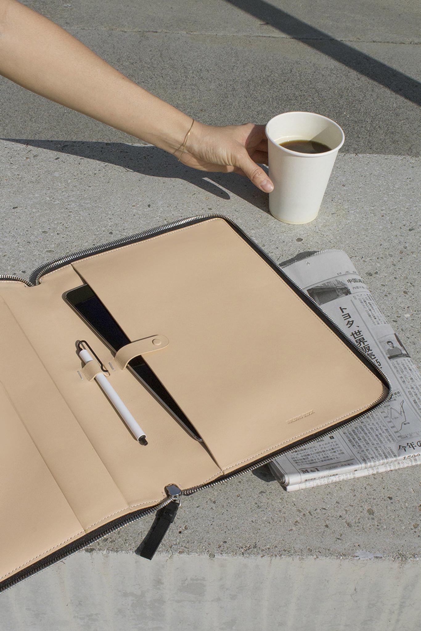 Building Block Leather Workbook In Black Lyst