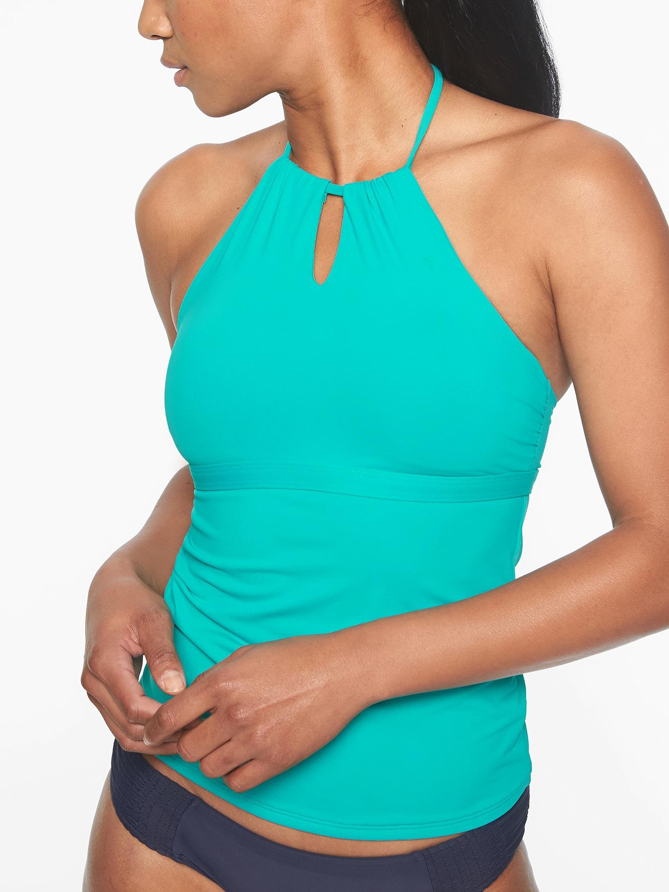 4ca52af0a8c97 Gallery. Previously sold at: Athleta · Women's High Neck Bikini Tops  Women's Tankinis