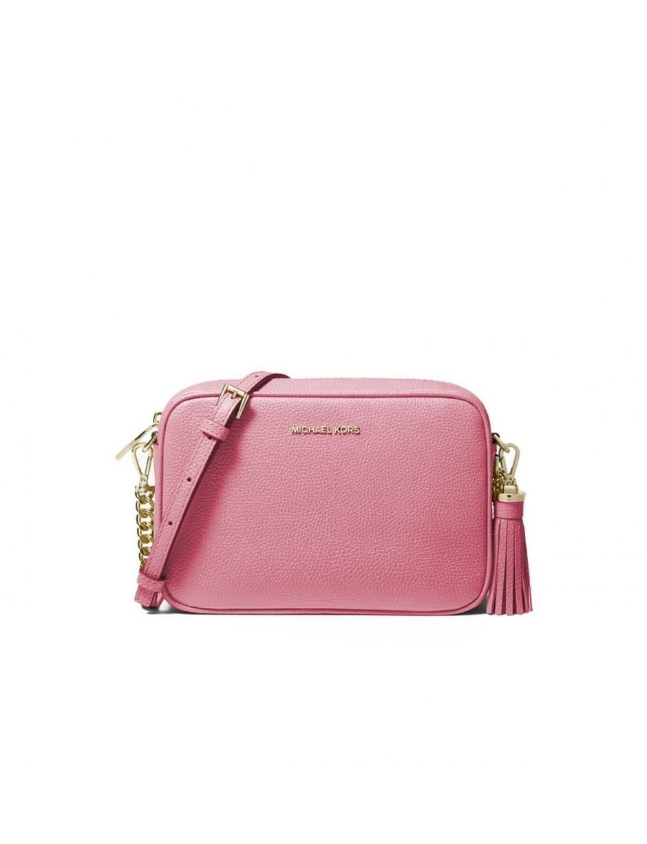 4b7ba3fd0fc5 MICHAEL Michael Kors. Women's Michael Kors Ginny Carnation Pink Crossbody  Bag