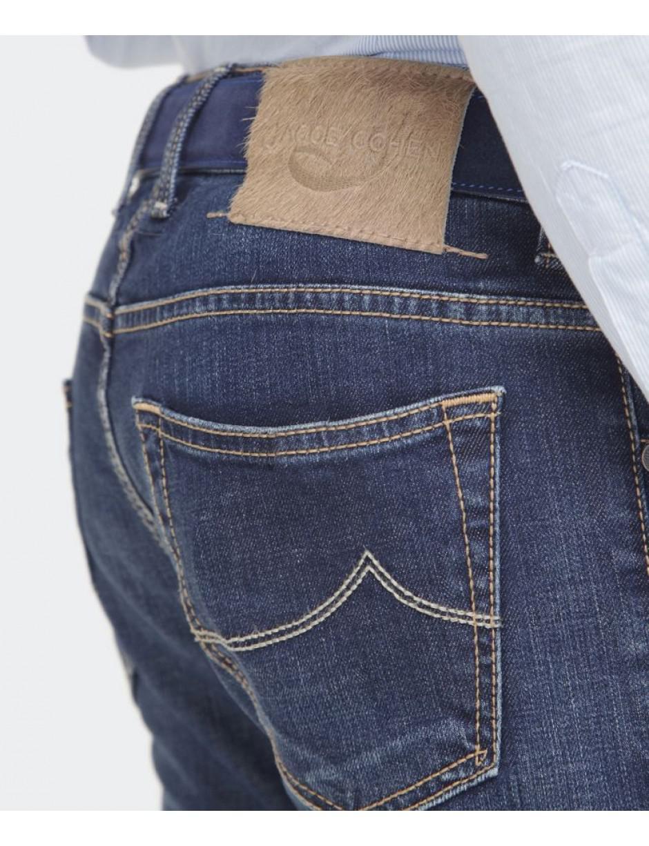 Jacob Cohen Denim Slim Fit Comfort Jeans in Navy (Blue) for Men