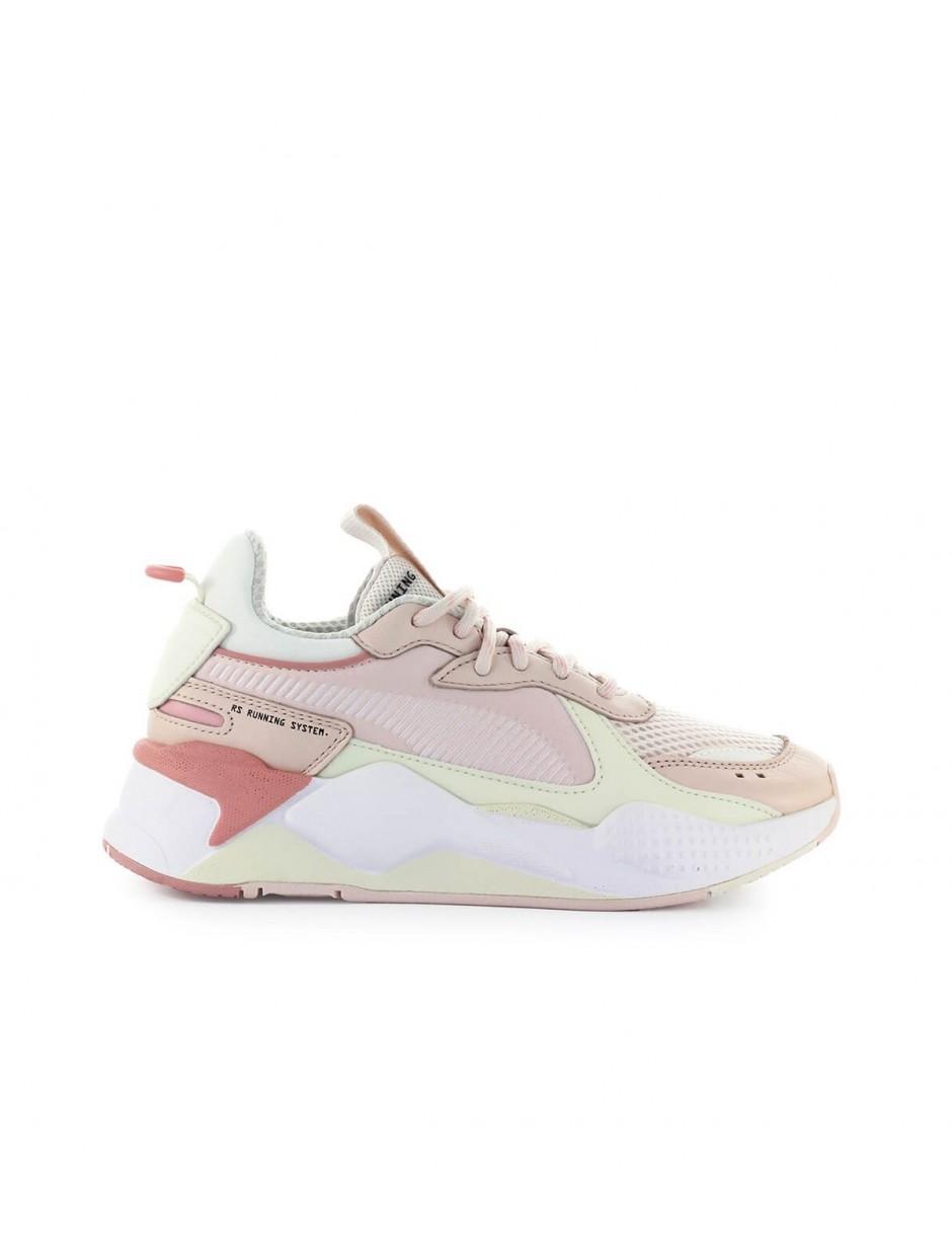 PUMA Denim Rs-x Tracks Pink White