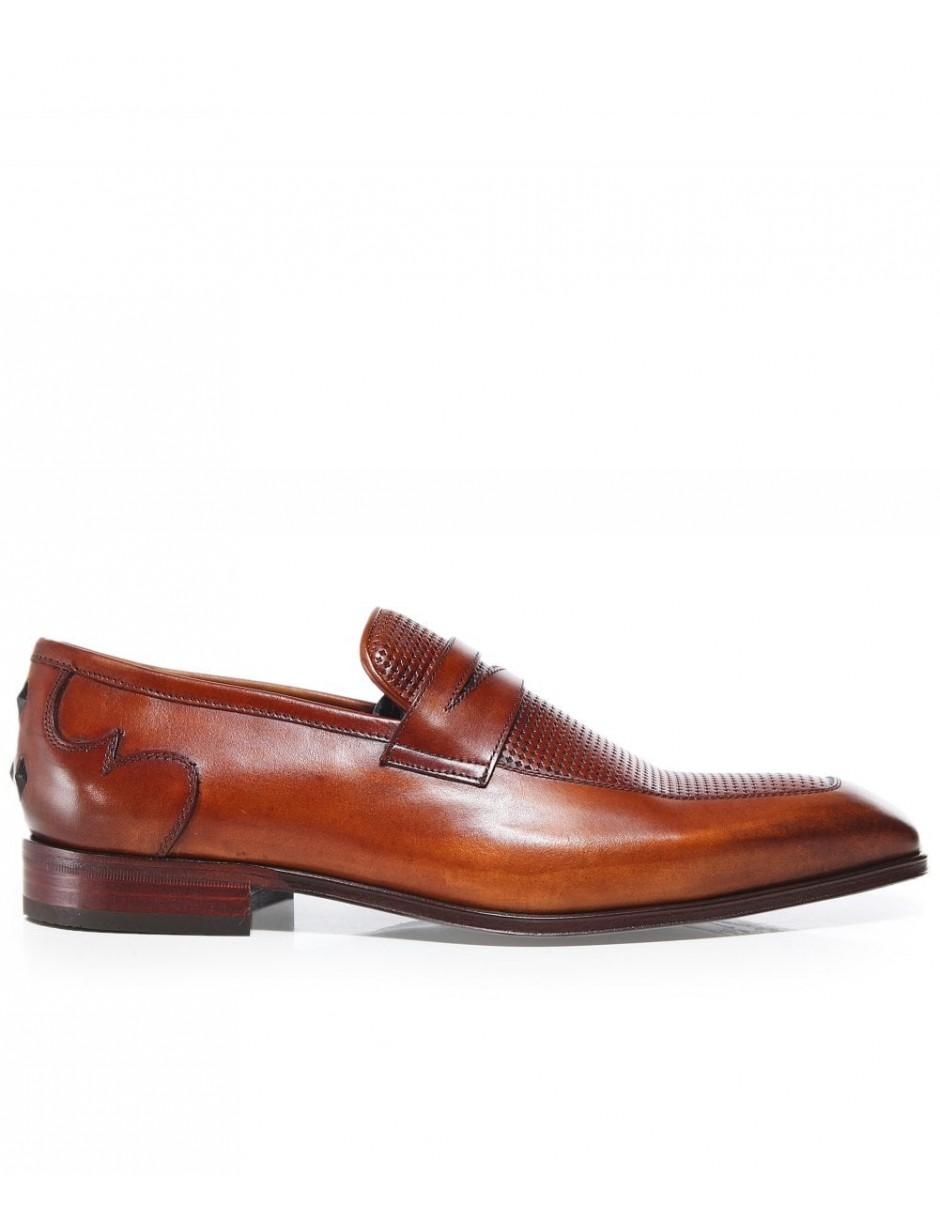 Jeffery West Soprano Mens Loafers Formal Smart Leather Shoes
