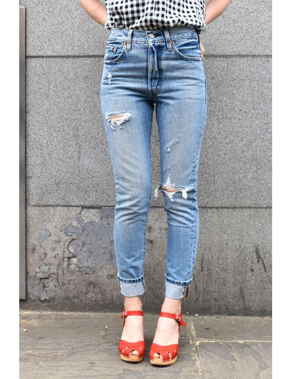 3a3145b62ff2 Levi's Levi's 501 Skinny Can't Touch This Jeans in Blue - Lyst