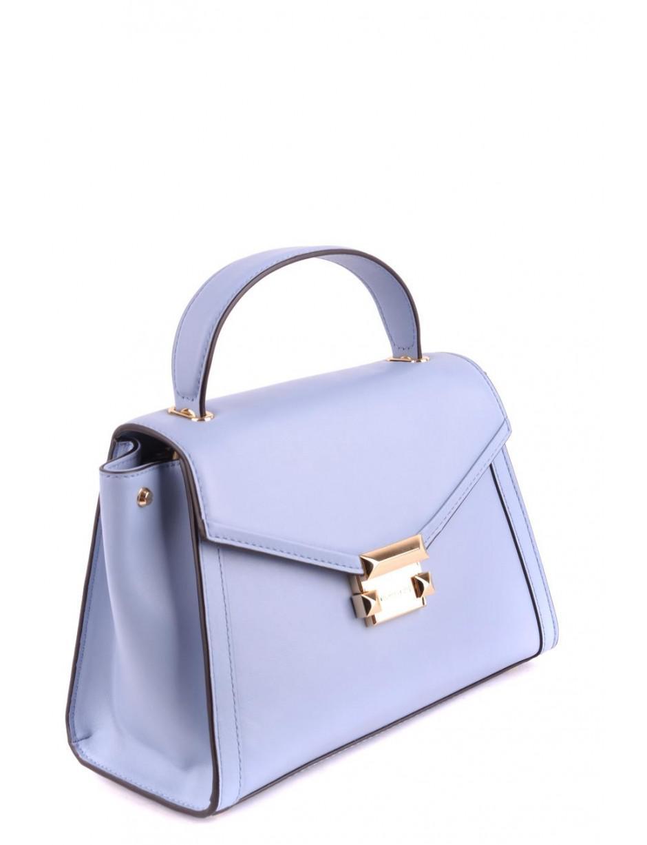 0f1df73bbac6c MICHAEL Michael Kors Shoulder Bag In Blue in Blue - Lyst