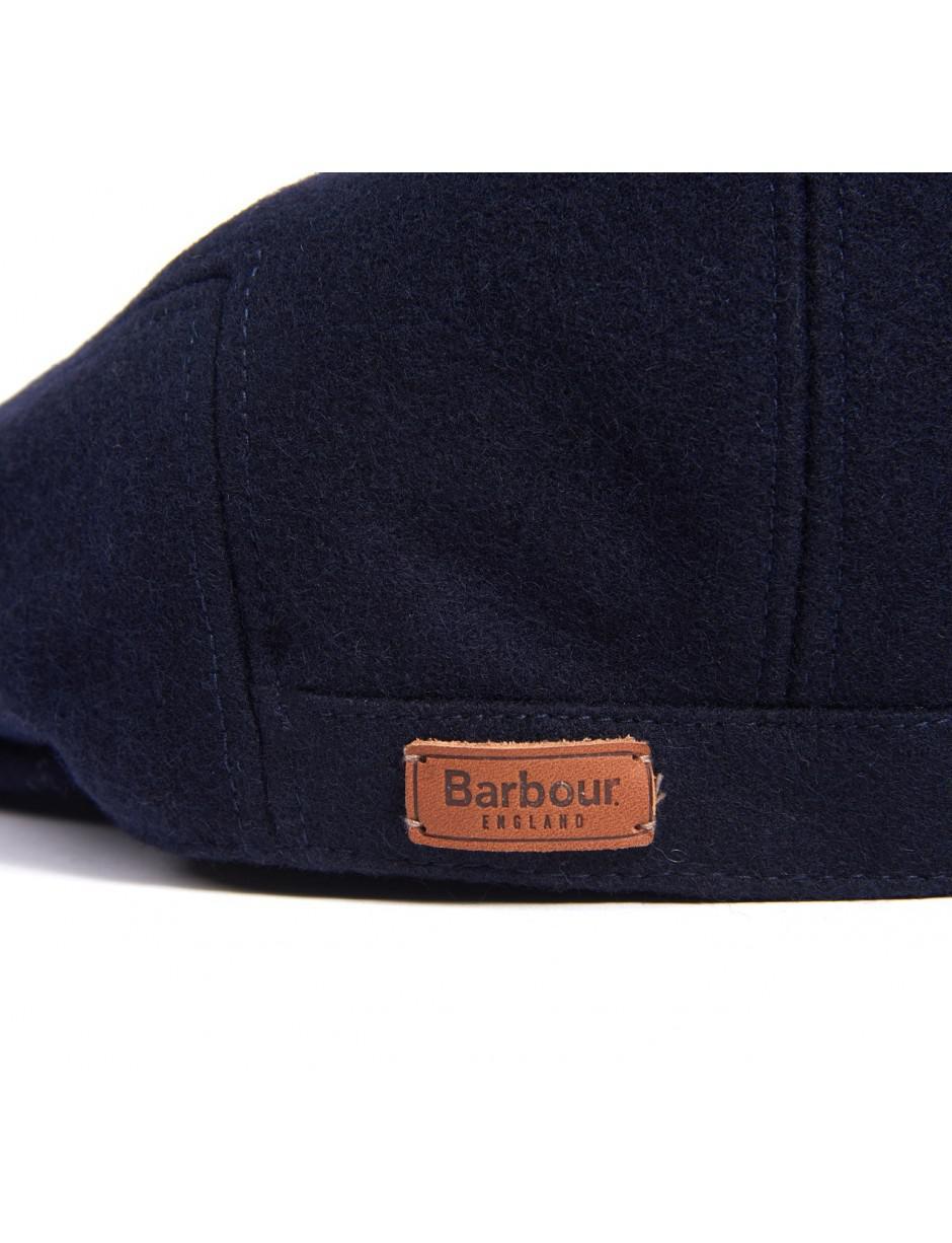 9b52dcc924e Barbour Men s Redshore Flat Cap in Blue for Men - Lyst